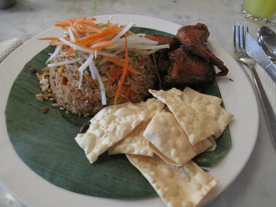 Old China Cafe: Nasi Lemak with Coconut Rice