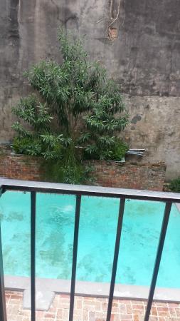 Hotel St. Helene: pool from balcony