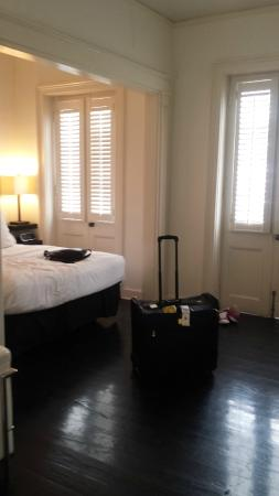 Hotel St. Helene: queen bedroom 3rd flr
