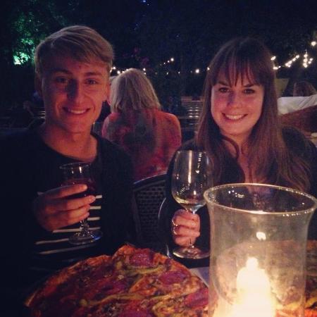 Tiergarten: Lovely meal enjoyed by the lake