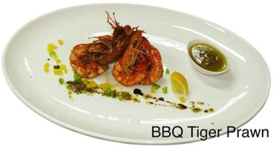 Louis' Kitchen: BBQ Tiger Prawns