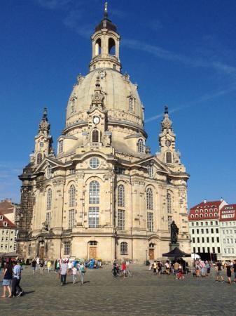 Frauenkirche: Una chiesa elegante