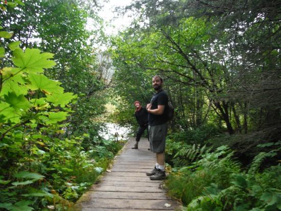 Skagway Float Tours: Over  beautiful bridge