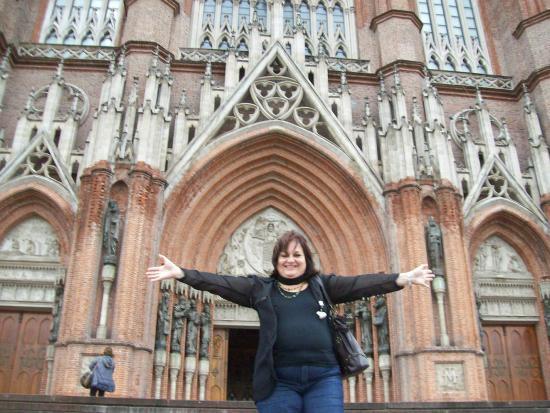 Catedral de la Plata: feliz una vez mas de estar ahi!