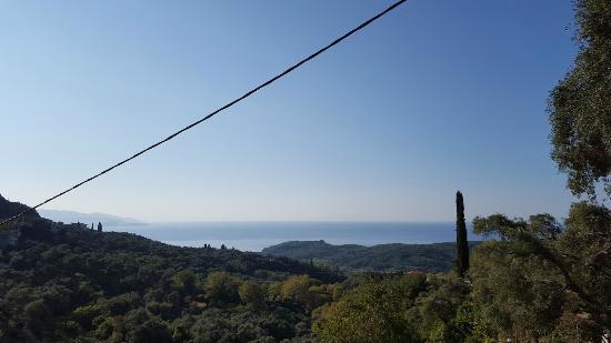 My Suite: Η θέα από το μπαλκόνι