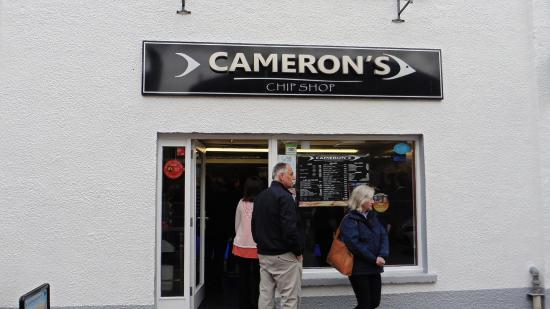 Camerons Chip Shop: Great expectations, big disappointment
