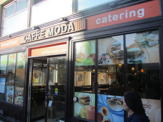 Caffe Moda: Restaurant