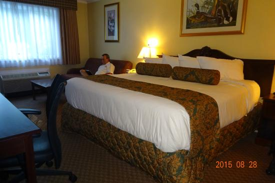 Best Western of Lake George: Chambre lit king de luxe