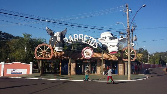 Parque do Peao: loja de souvenirs