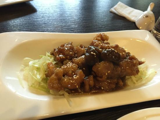 Cha Yen Restaurant: pork with plum sauce
