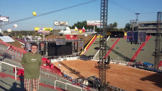 Parque do Peao: visao geral da arena
