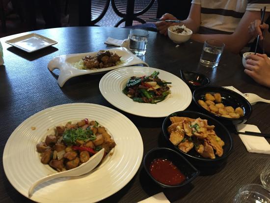Cha Yen Restaurant: tasty but small portion
