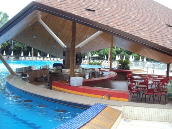 Recanto Cataratas Thermas Resort & Convention: Bar Piscina