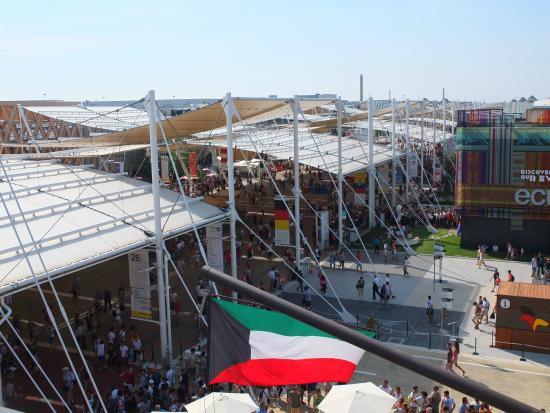 Expo 2015: expo dall'alto