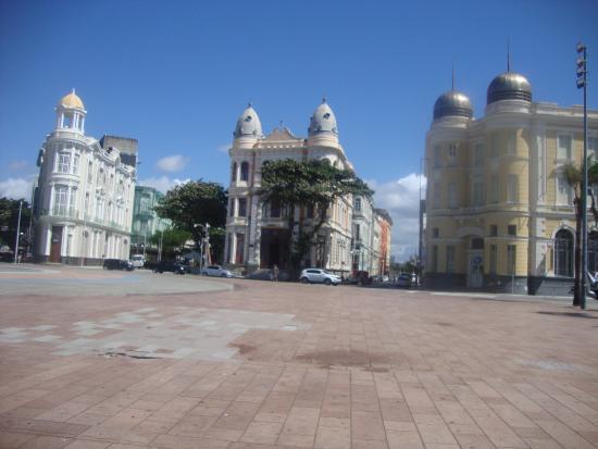 Recife antigo muita cultura.