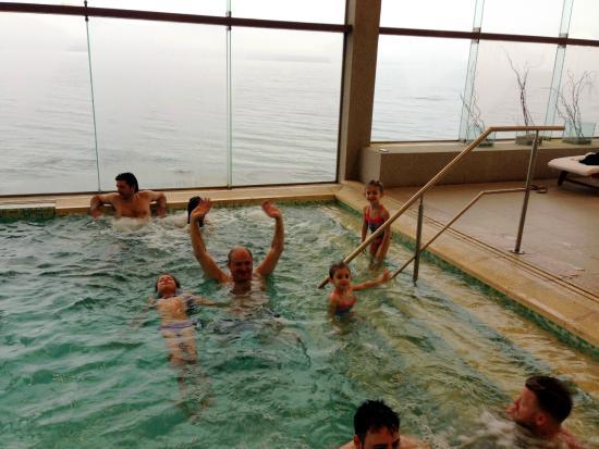 Alma del Lago Suites & Spa: Piscina aquecida