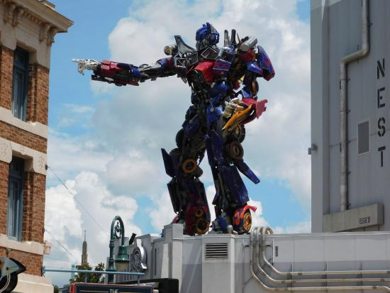 Universal Orlando Resort: Transformers Ride - Best Ride In The Park