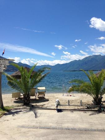 Caravan Camping Miralago: Strand