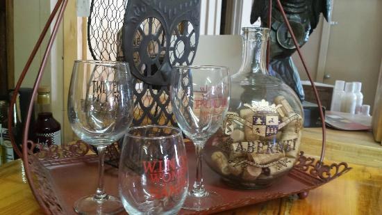 Twisted Pine Winery: Your choice of 3 glasses with a wine tasting