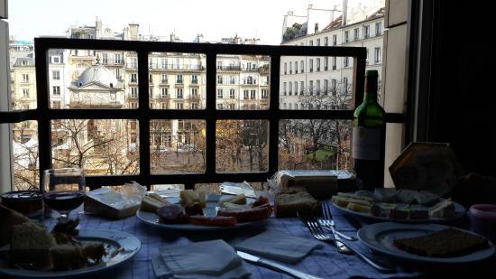 Citadines Les Halles Paris: Vista desde la habitacion
