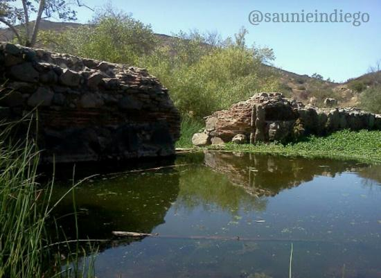 Mission Trails Regional Park: Mission Dam, built by indigenous Californians and the Missionaries