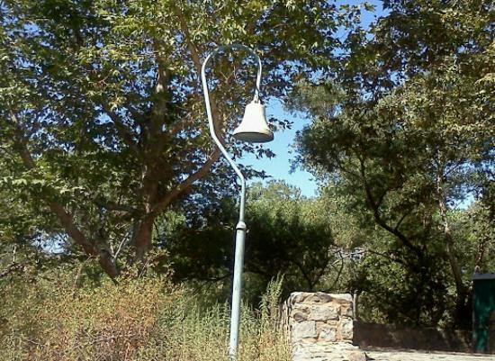 Mission Trails Regional Park: California Mission Trail bell