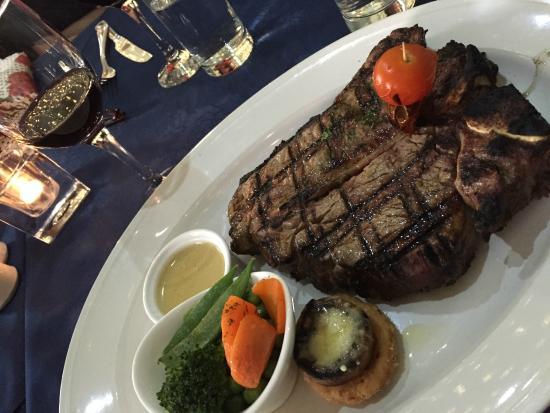 Number Seven: 32oz Mega steak ....ask for it