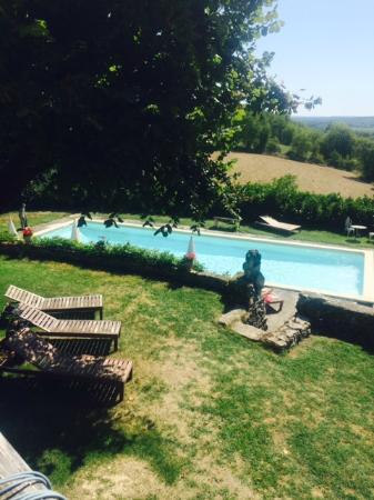 Pilates en France: Beautiful Pool