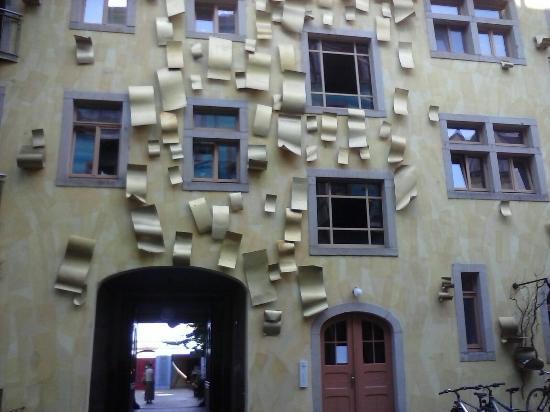 Kunsthofpassage: Particolare della facciata