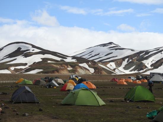 Helena Travel Iceland: The Tents of Landmannalaugar