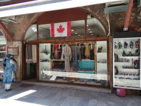 Jennifer's Hamam: store front