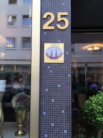 Hotel Domstern: Piccolo ma comodo