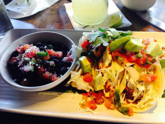 South of Nick's Mexican Kitchen + Bar: Blackened Fish Tacos