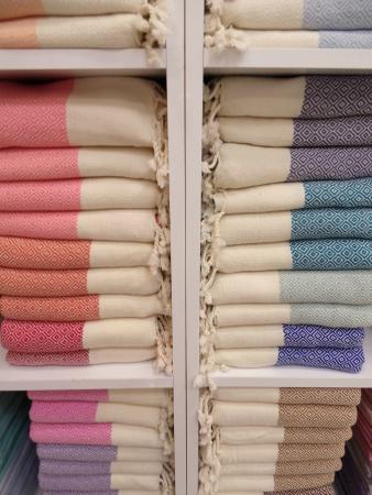 Jennifer's Hamam: towels