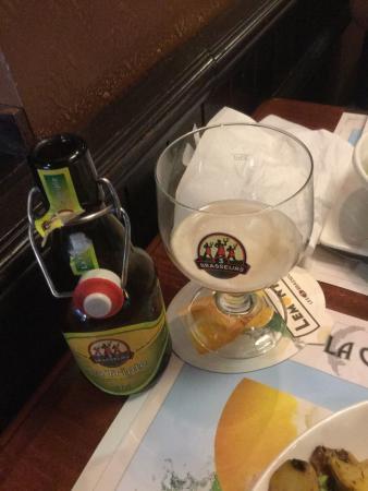 Les 3 Brasseurs: Bière de la maison