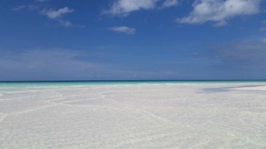 Royalton Cayo Santa Maria: low tide