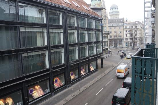 Sorell Hotel Seidenhof: View from the balcony