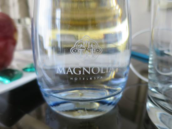 Magnolia Hotel And Spa: Eco-friendly water