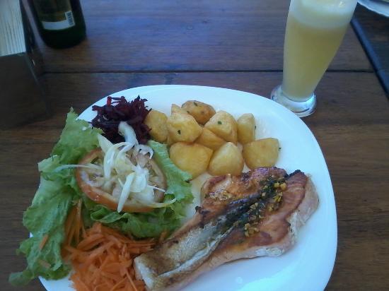 La Barceloneta: salmão delícia