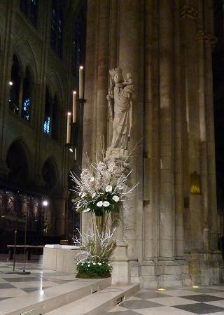 Notre Dame katedral: la Vierge