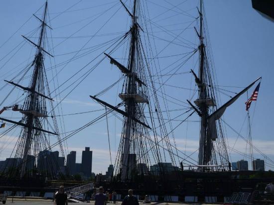 Boston Tea Party Ships & Museum: Le fameux bateau