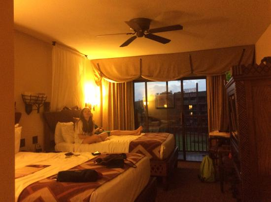 Disney's Animal Kingdom Lodge: Our room 4542