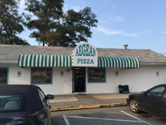 Aegean Pizza: You've arrived