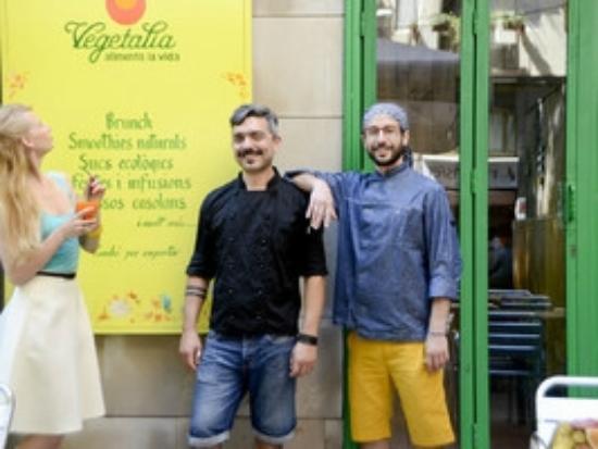 Restaurant Vegetalia Raval: Nuestros Chefs