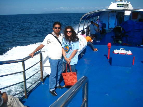 Langkawi Ferry: Enjoying the blazing Sun