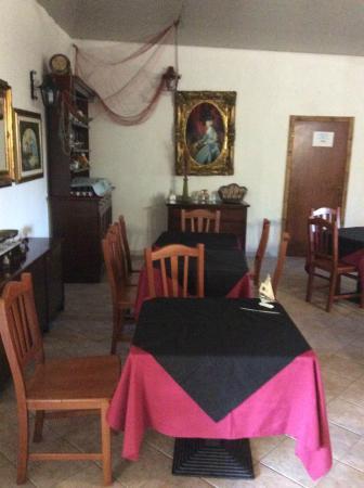 La Piccola Mole: sala ristorante
