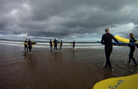 Strandhill Surf School: Surfing