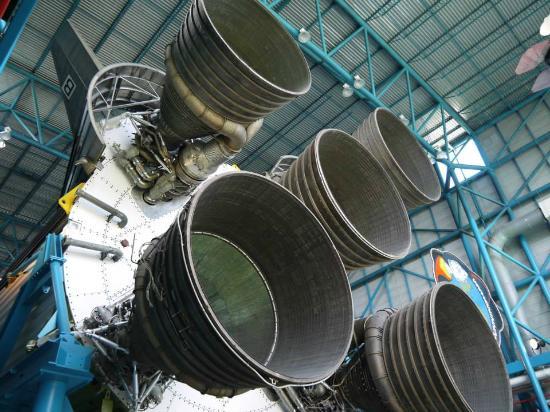 NASA Kennedy Space Center Visitor Complex: les réacteurs