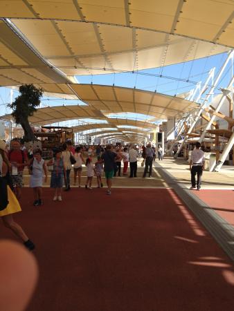 Expo 2015: Decumano...