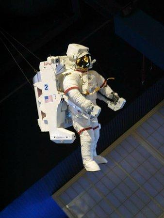 NASA Kennedy Space Center Visitor Complex: Un astronaute
